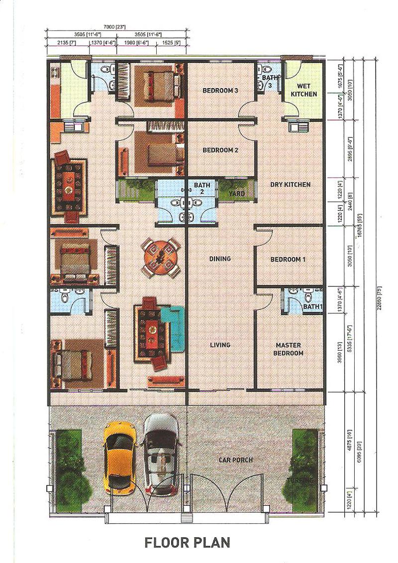Taman-Seri-Jati-4_single-floor-plan